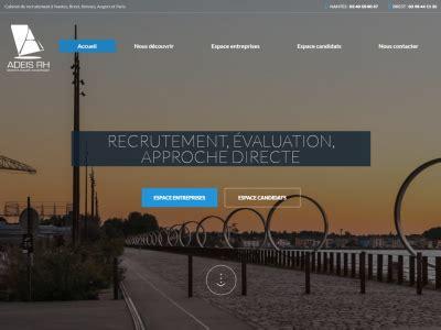 Cabinet Recrutement Angers by Cr 233 Ation De Site Pour Cabinet De Recrutement
