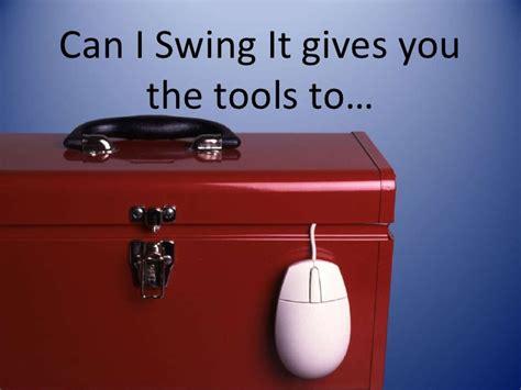 can i swing can i swing it info