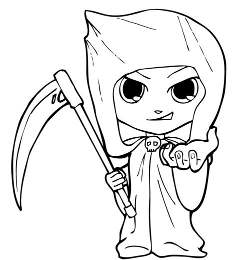 Grim Reaper Coloring Pages grim reaper coloring pages coloring pages