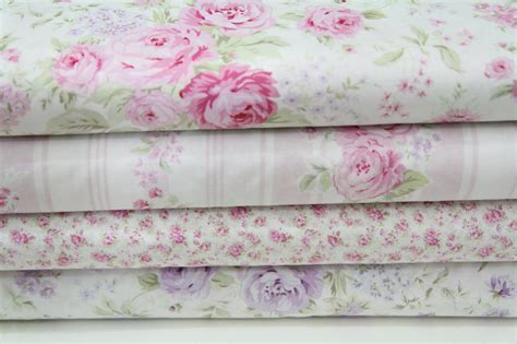 shabby chic barkclothfabric by the shabby chic fabric bundle 4 yards treasures by shabby chic
