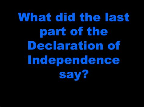 the sections of the declaration of independence declaration of independence 2014