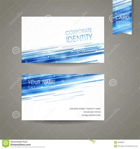 information technology title for business cards templates abstract technology background design for business card