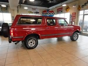 90 Ford Bronco Buy Used 90 Ford Bronco 4x4 Size 5 8l V8