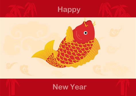 free new year card template new year card exles and templates