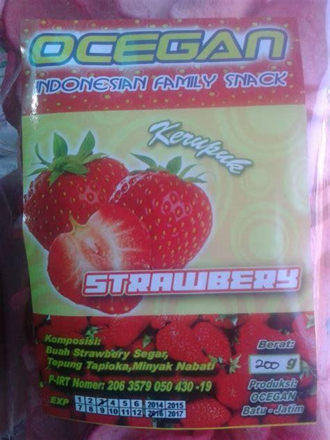 Produk Ukm Bumn Kerupuk Cassava keripik belut www menone