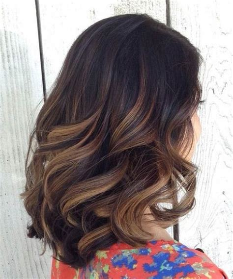 black short hair with blonde ombre black to brown ombre balayage short ombre hair ideas
