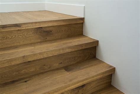 Custom Square Nose Stair Treads   Cooper Floors