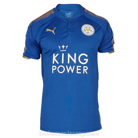 Jersey City Home 2017 leicester city 2017 18 home shirt soccer jersey