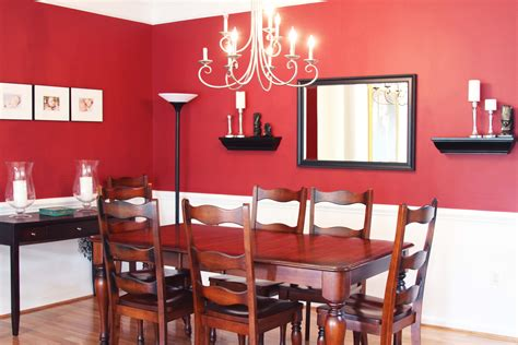 red dining room table red wall dining room ideas alliancemv com