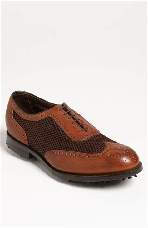 allen edmonds golf shoes allen edmonds eagle golf shoe in brown for lyst
