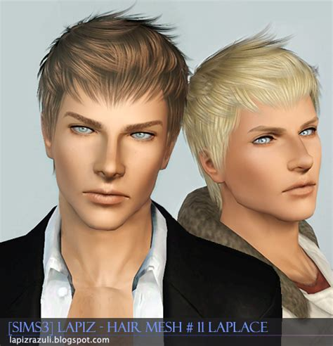 sims 3 male hair lapiz s scrapyard