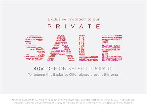 sle email invitations 7 sles exles format furla private sale exclusive invitation milled