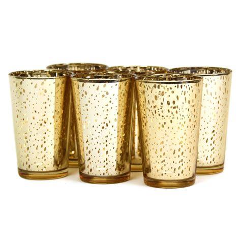 Gold Candlestick Holders Bulk 4 Inch Mercury Votive Holder In Gold Silver Usd42 00
