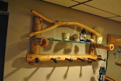 crafted custom coat rack by phil s woodwork