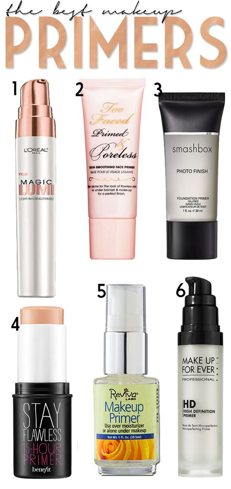 11 best makeup primers totalbeauty the best makeup primers makeup primer primer and makeup