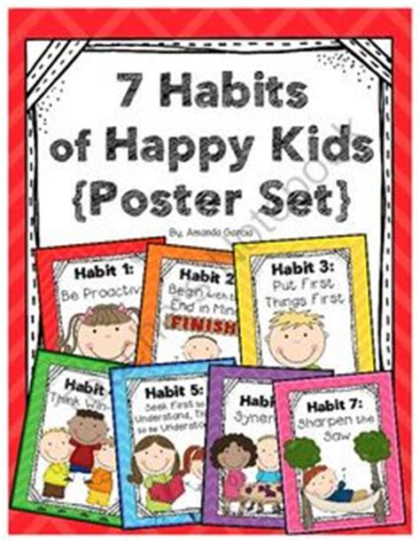 Pdf 7 Habits Happy by 7 Habits Of Happy Bulletin Board School Ideas