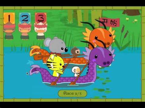 ni hao kai lan dragon boat race ni hao dragon boat race youtube