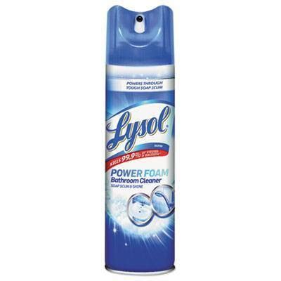 Shower Power Bathroom Cleaner Lysol 174 Power Foam Bathroom Cleaner