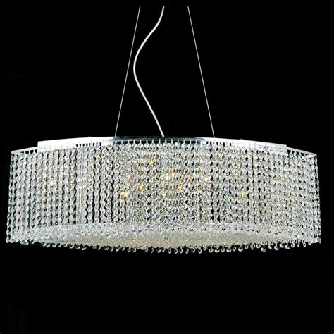 Chandelier Crystal Prisms Brizzo Lighting Stores 35 Quot Rainbow Modern Linear Crystal