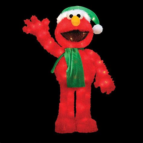 sesame street 32 in pre lit led waving elmo 90109 mp1