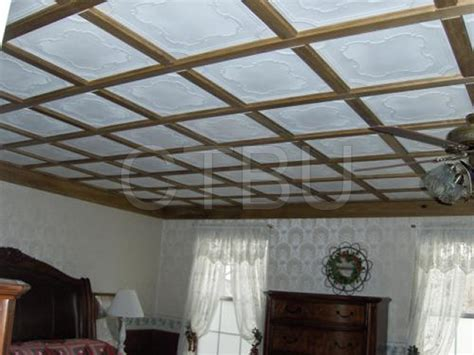 Custom Ceiling Panels styrofoam ceiling tiles installed