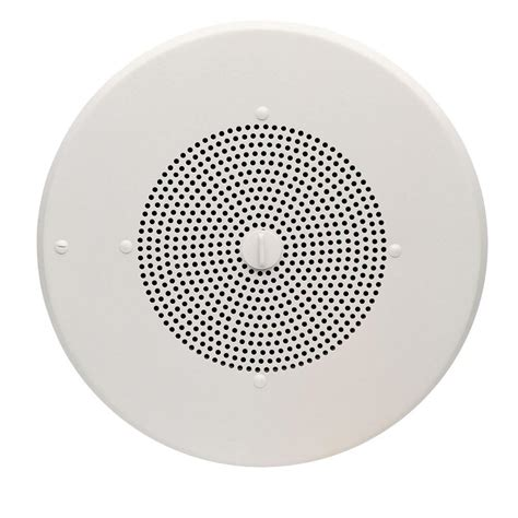 valcom 8 in one way ip ceiling speaker vc vip 120 the