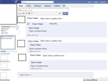 biography facebook project 1000 images about twitter and facebook lessons on