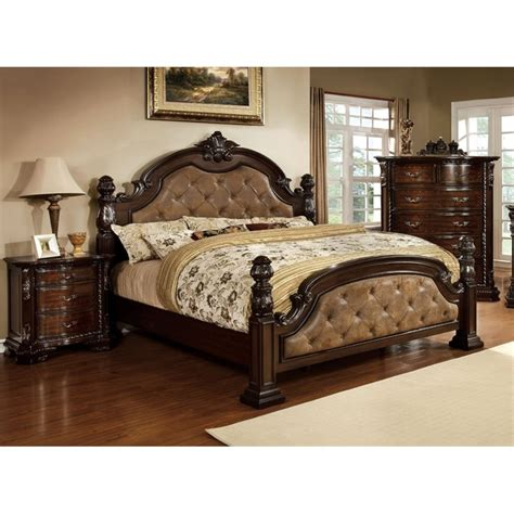 furniture of america cruzina 3 piece california king furniture of america cathey 3 piece california king panel bedroom set idf 7296da ck 3pc