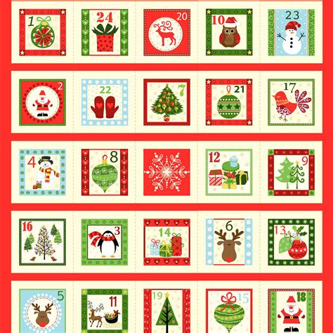 advent calendar kit kits overdale fabrics