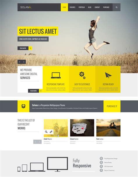 flat design template psd 15 premium flat design psd web templates