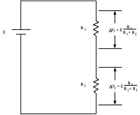 how do resistors divide voltage in a series circuit ibioelectricityvoltagedivider6