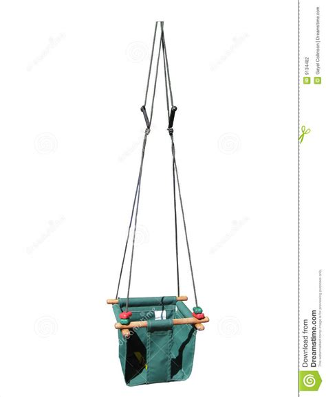 canvas swing baby s canvas swing stock photography image 9134482