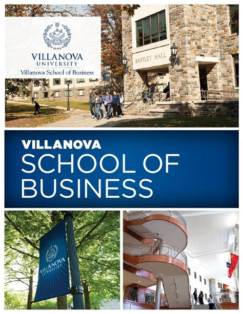 Tuition Cost For Villanova Mba by Villanova School Of Business Brochure 2015 By Villanova