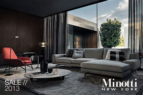 Furniture Floor Sle Sale Nyc by Minotti Home Accessories New York Annual Floor Sle Sale
