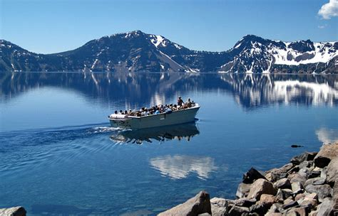 winter park boat tour schedule crater lake seventh deepest lake in the world gets ready
