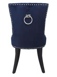 Navy Velvet Dining Chairs Impressive Navy Velvet Dining Chairs Uptown Chair Coleman 4057946230 With Creativity Ideas