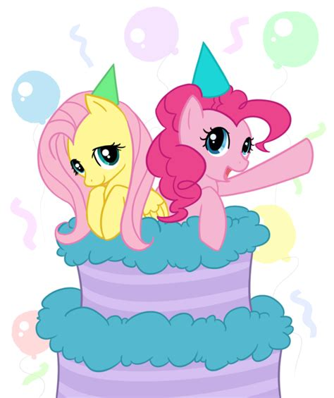 pony birthday celebration cake png picture