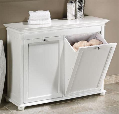 tilt out laundry cabinet hton bay tilt out her traditional hers
