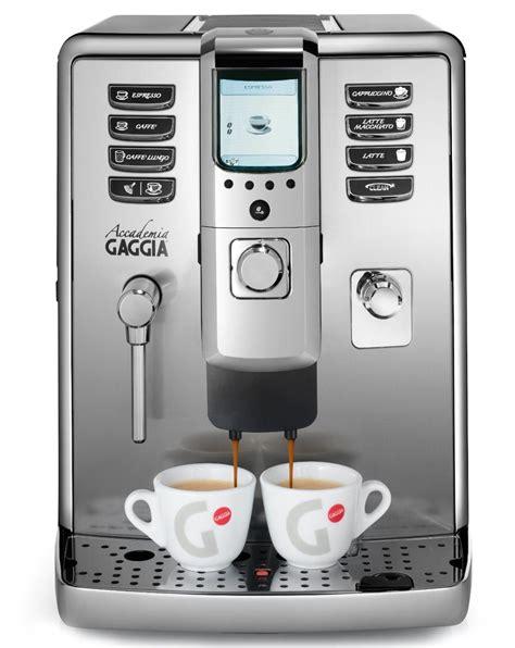 Coffee Maker Gaggia gaggia accademia espresso machine review