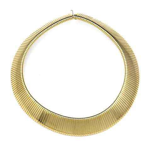 gold chain collar gold snake chain collar necklace by kenneth eternity jewelry