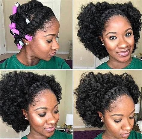 4c twistout updo natural hair style buns and updo s pinterest hair