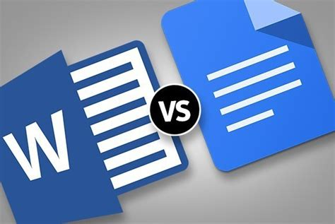 googeldocs office vs docs which microsoft word vs docs on columns headers and bullets