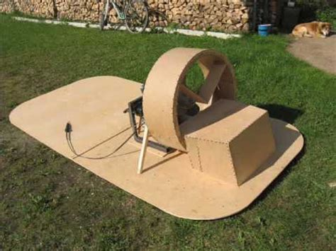 my home made hovercraft