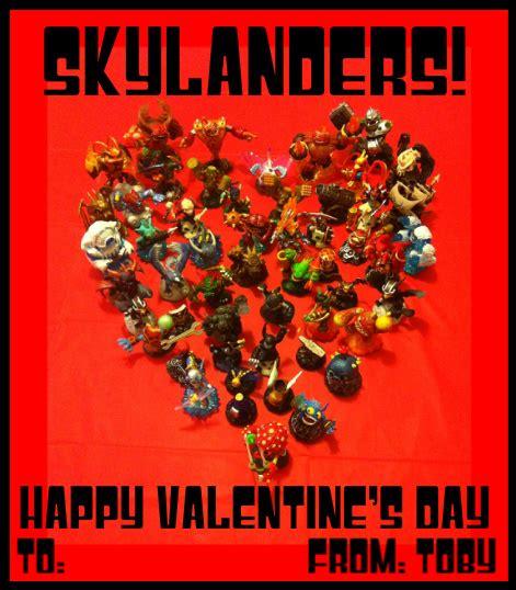 skylanders valentines photo valentines using skylanders legos