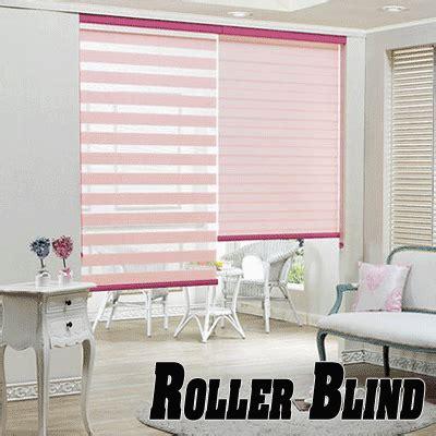 Roller Blind Pemasang Pt Apg qoo10 roller zebra blind bedding rugs household