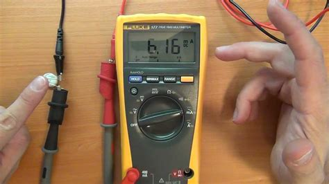 testing a diode with a fluke how to use a multimeter for beginners part 2a current measurement