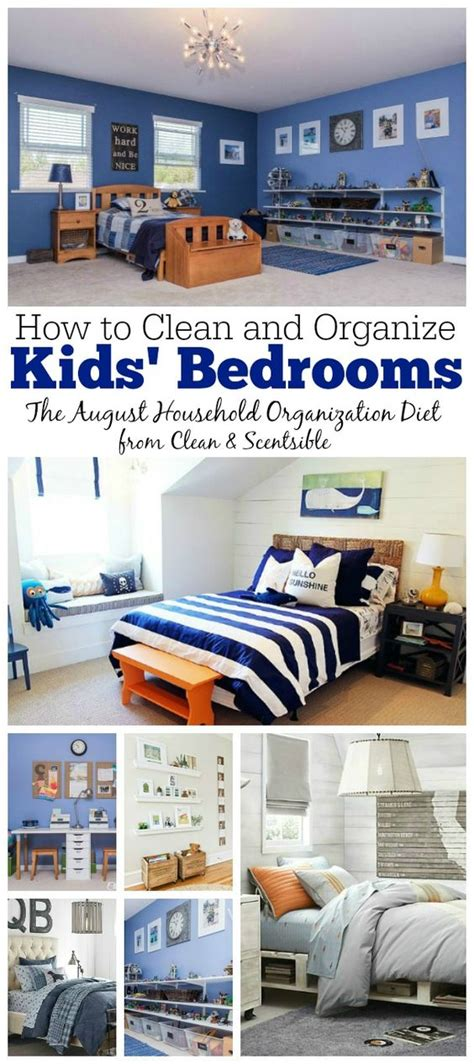Bedroom Organization Printables How To Organize Bedrooms August Hod 30 Day Detox