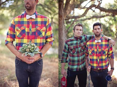 pattern shirt to wedding pair your plaid shirts and pattern ties aptly