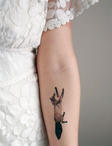 temporary tattoos fox and rabbit includes 2 tattoos