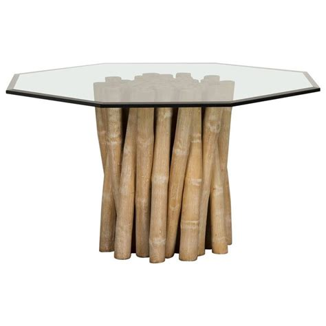 bamboo table l base vintage budji collection bamboo table base